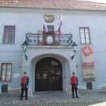 Delegacija HNS - Azerbaijan smjena straže